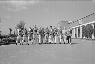 Butlins Redcoats - Redcoats at Butlins Filey in 1947