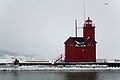 Holland Lighthouse and channel MI.jpg