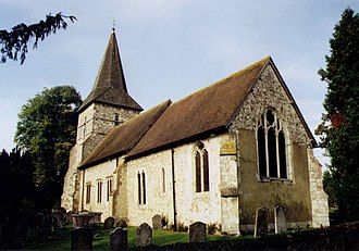 Grade II* listed buildings in East Hampshire - Image: Holy Rood, Holybourne geograph.org.uk 1493884
