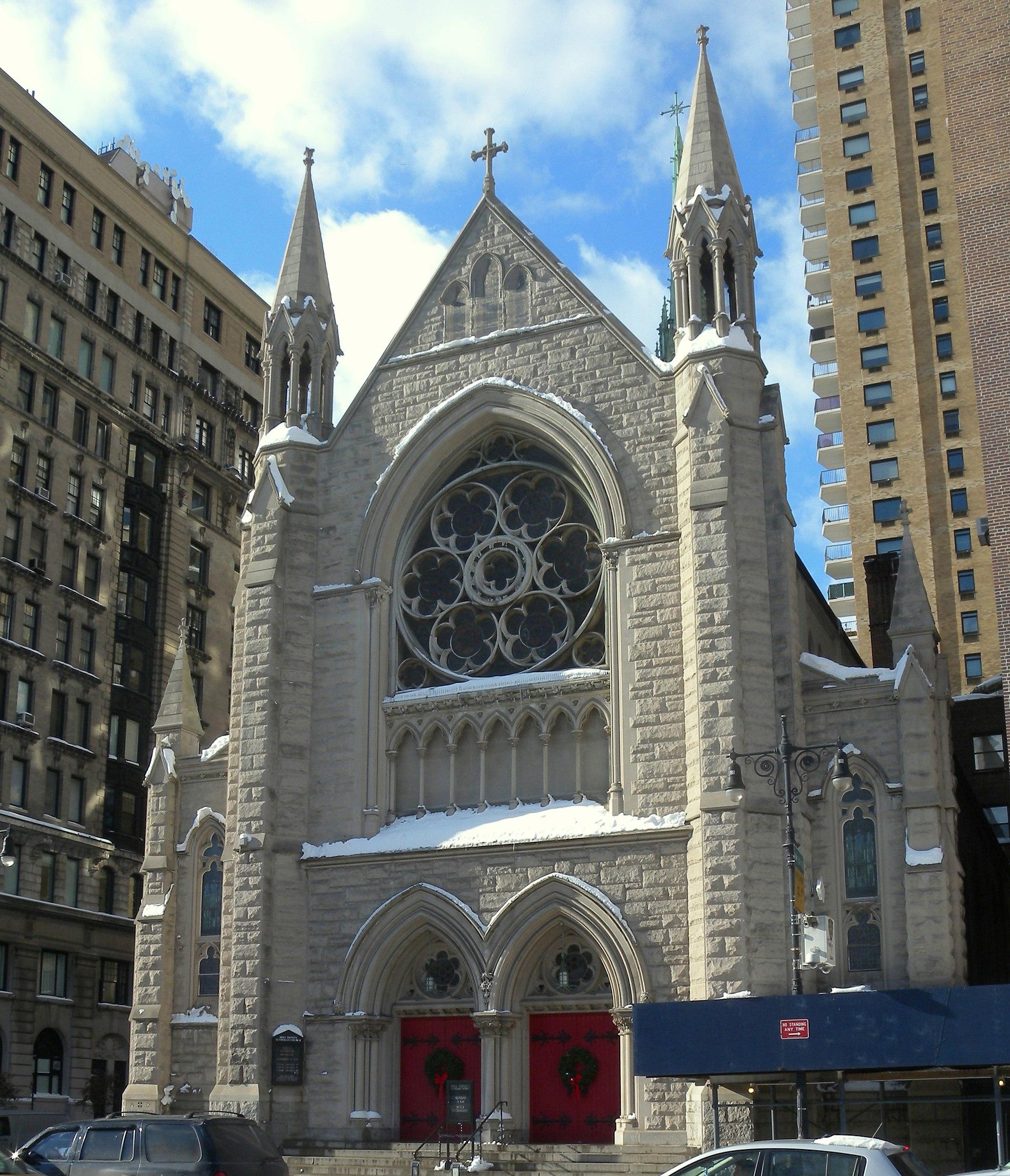 Manhatten New York: Holy Trinity Lutheran Church (Manhattan)