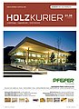 Holzkurier Cover 2008