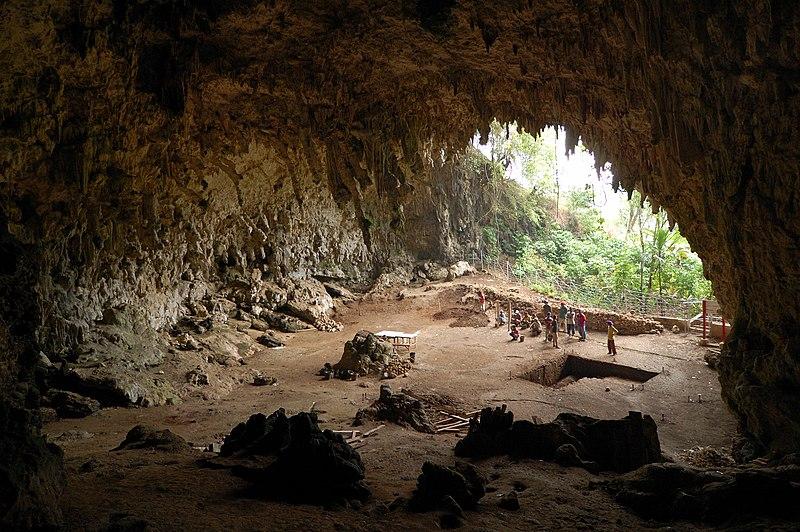 File:Homo floresiensis cave.jpg