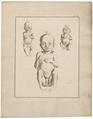 Homo sapiens - pasgeborene - 1700-1880 - Print - Iconographia Zoologica - Special Collections University of Amsterdam - UBA01 IZ19600119.tif