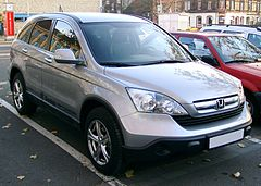 Honda CR-V III przed liftingiem