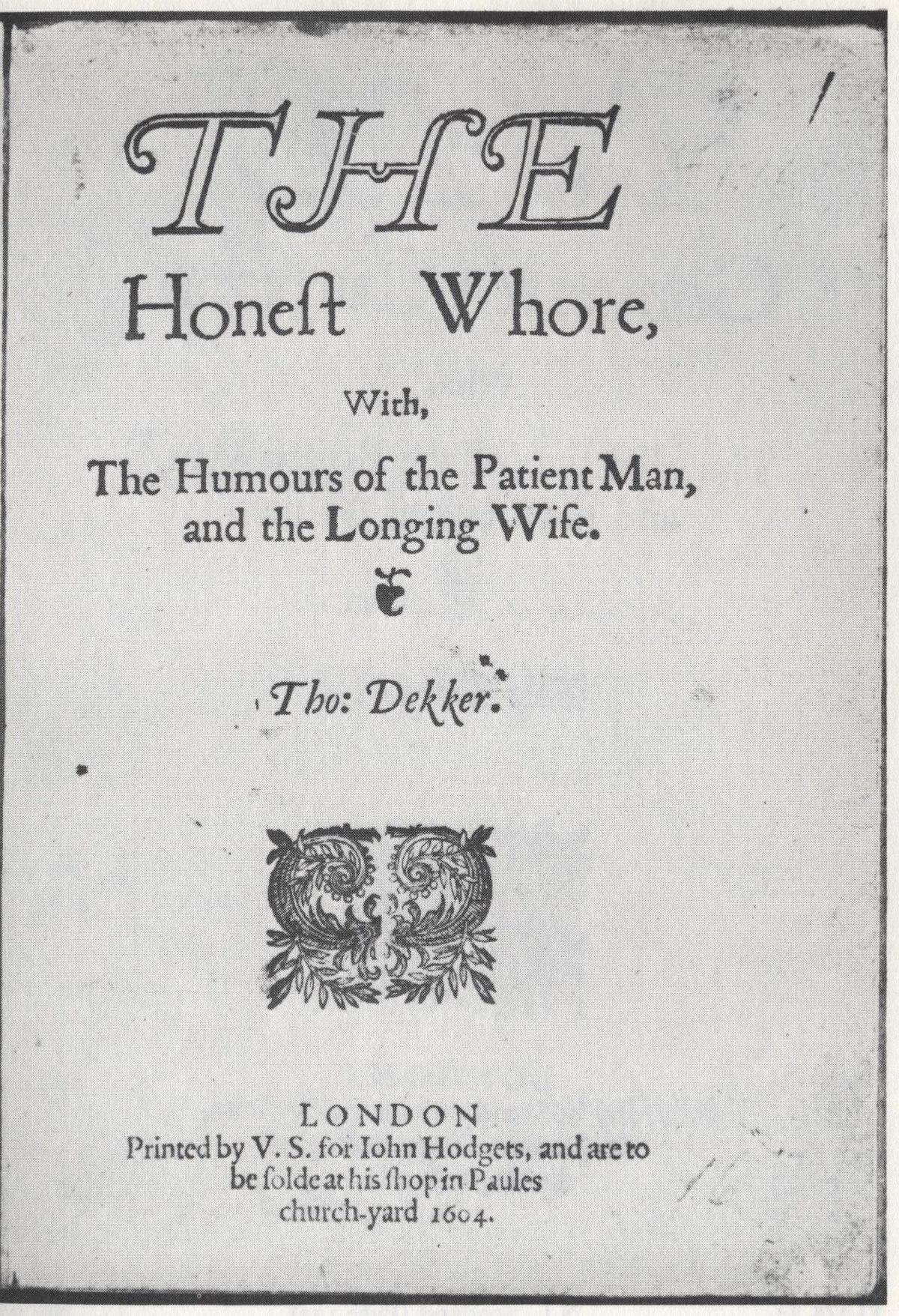 The Honest Whore - Wikipedia