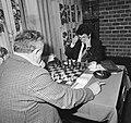 Hoogovenschaaktoernooi Geller (links) tegen Kurajica, Bestanddeelnr 928-9965.jpg