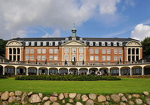 Christmas seal - The first Danish Christmas seal sanatorium in Kolding, now Hotel Koldingfjord
