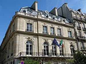 Ernest Sanson - Hôtel de Breteuil, now the Irish Embassy, Paris, 1902