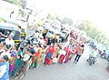 Human Chain View, Mahul residents protests.jpg