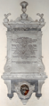 HumphrySydenham Died1757 DulvertonChurch Somerset.PNG