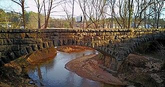 Hunting Creek Railroad Bridge - Image: Hunting Creek Bridge