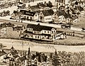Hyde Park (NY&NE) station on 1890 bird's eye view map.jpg