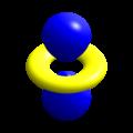 Hydrogen eigenstate n3 l2 m0.png