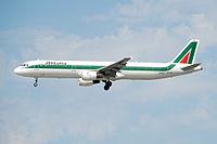 I-BIXQ - A321 - Alitalia
