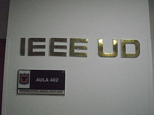 District University of Bogotá - The office of IEEE