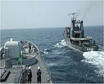INS Talwar and SLNS Sagara during SLINEX 2013 (1).jpg