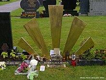La tomba di Rory Gallagher presso il Saint Oliver's Cemetery in Model Farm Road a Cork (Irlanda)