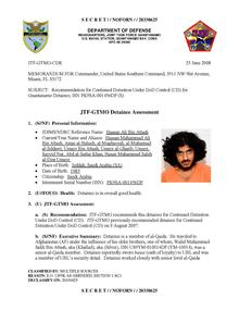 ISN 01456, Hassan Ali Bin Attash's Guantanamo detainee assessment.pdf