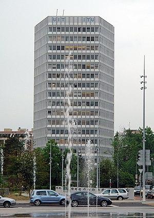 60-meter band - ITU headquarters, Geneva
