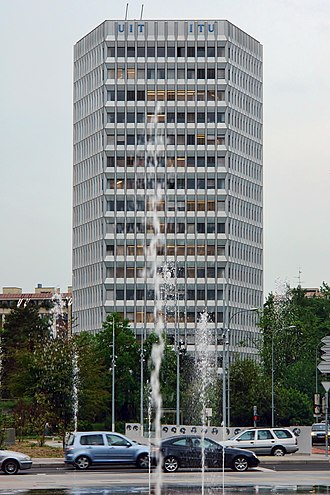 60-meter band - ITU headquarters, Geneva