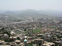 Skyline of Ibb
