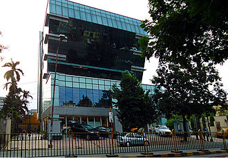 AJC Bose Road & APC Road - Ideal Center on AJC Bose Rd, houses an 'Audi' showroom