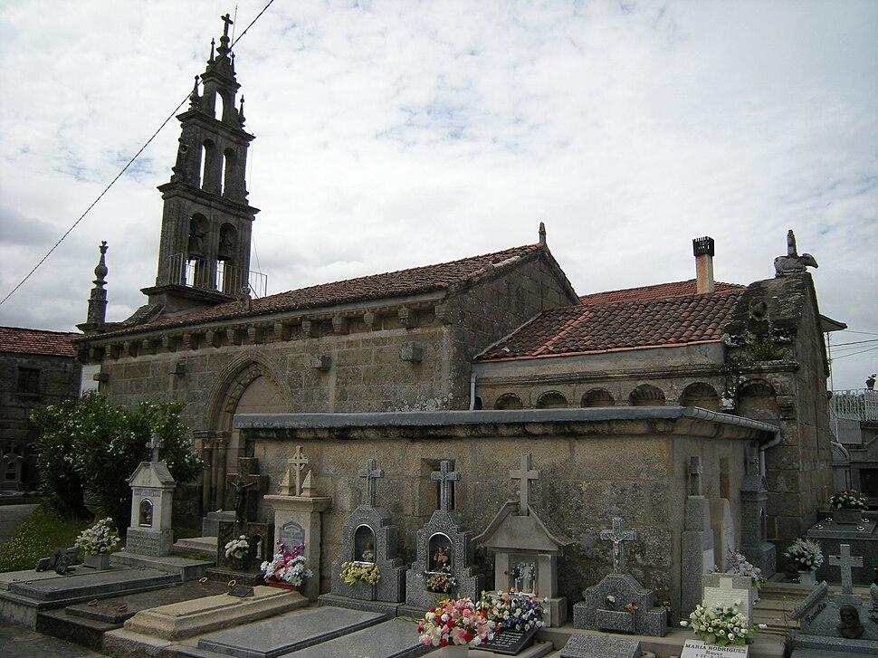Igrexa de Santa Marta de Moreiras, O Pereiro de Aguiar