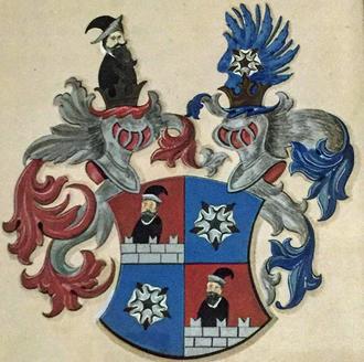 In der Maur - Coat of arms of the Austrian branch of the family, In der Maur auf Strelburg und zu  Freifeld
