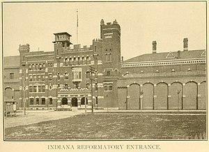 Pendleton Correctional Facility - Entrance to the Indiana Reformatory, 1909