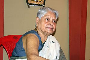 Jaya Bachchan - Indira Bhaduri, Bachchan's mother