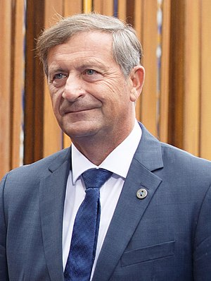 Karl Erjavec - Image: Informal meeting of ministers for foreign affairs (Gymnich). Arrivals Karl Viktor Erjavec (36247207934) (cropped)