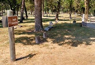 Mary Ingalls - Ingalls family plot, De Smet Cemetery, South Dakota