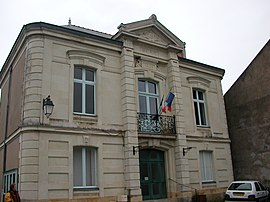 The town hall in Ingrandes