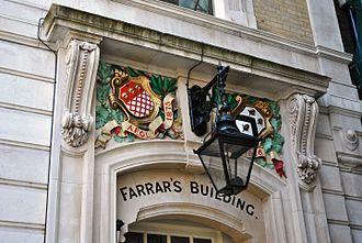 Inner Temple - Farrar's Building