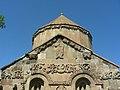 Insel Akdamar Աղթամար, armenische Kirche zum Heiligen Kreuz Սուրբ խաչ (um 920) (38611322640).jpg