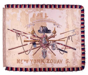 11th New York Infantry - Image: Insignia of 11th New York Volunteer Infantry Regiment