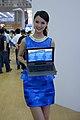 Intel promotional models at Computex 20130607a.jpg
