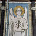 Interieur, wandschildering, detail van engel - Uden - 20356349 - RCE.jpg