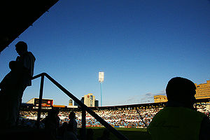 La Romareda - Interior of the stadium.