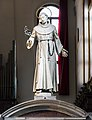 Interior of San Francesco della Vigna (Venice) - Choir - Wood statue of St. Antony by Girolamo Campagna.jpg