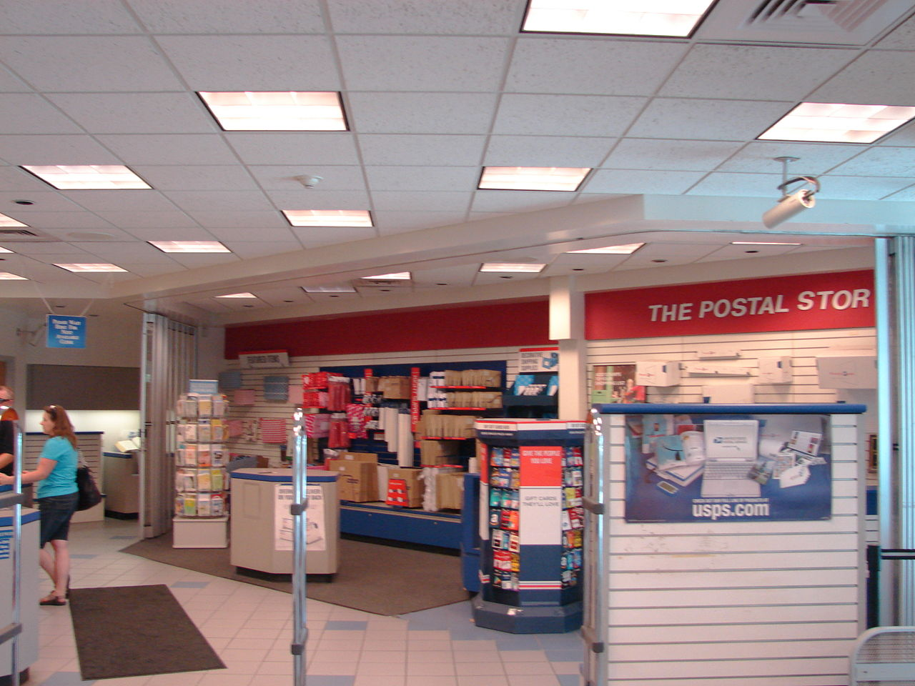 Fileinterior Of Spanish Fork City Post Office Utah 01jpg