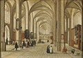 Interior of a Gothic Church (Peeter Neeffs d.ä.) - Nationalmuseum - 17539.tif