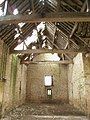 Interior of derelict barn 2 - geograph.org.uk - 325184.jpg