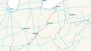 Interstate Wikipedia - Us highway 71 map