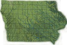 Where Is Iowa On The United States Map.Iowa Wikipedia