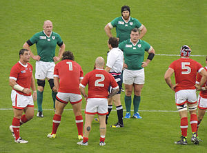 2015 Rugby World Cup - Ireland beat Canada 50–7 at the Millennium Stadium in Cardiff.