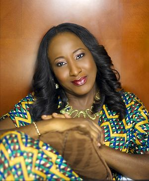Iretiola Doyle - Photograph of Nigerian actress Iretiola Doyle