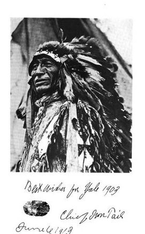 Nickel (United States coin) - Chief Iron Tail, circa 1912