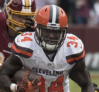 Isaiah Crowell - Crowell with the Cleveland Browns in 2016