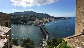 Ischia - view from Castello Aragonese (14830162242).jpg